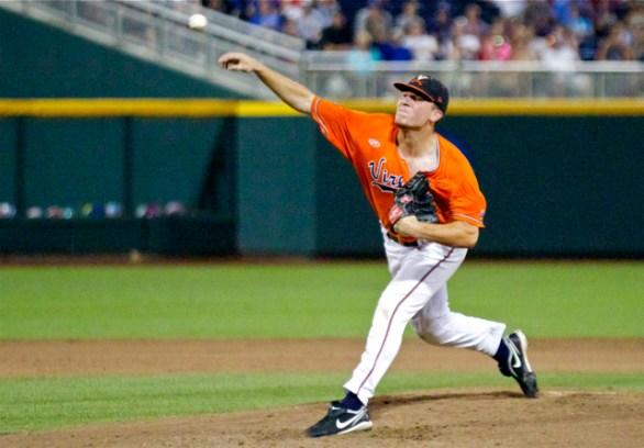 Nick Howard pitched four scoreless frames. (Photo: Shotgun Spratling)