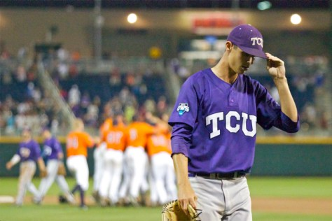 This photo pretty much sums up TCU's night. (Photo: Shotgun Spratling)