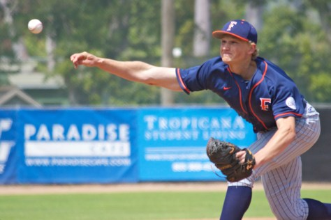Phil Bickford pitched well, but took the loss. (Photo: Shotgun Spratling)