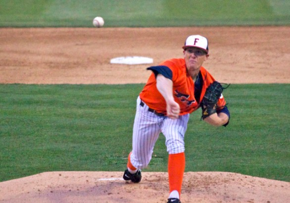 Thomas Eshelman pitched a 10-inning shutout. (Photo: Shotgun Spratling)