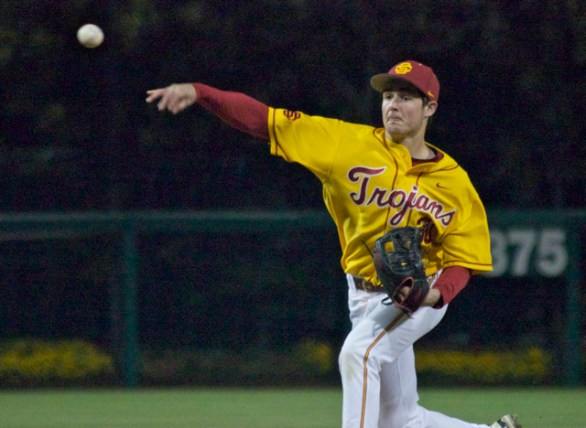 Aaron Digiamarino struggled throwing strikes.