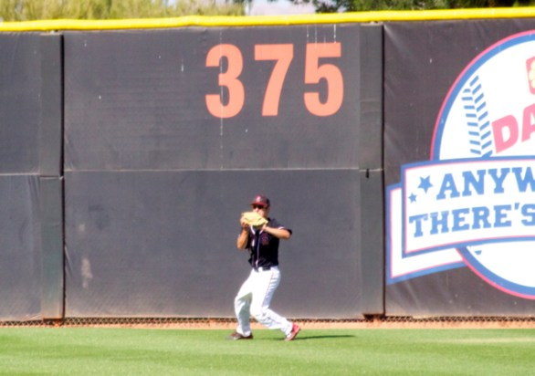 Danny Sheehan catches the final out. (Photo: Shotgun Spratling)