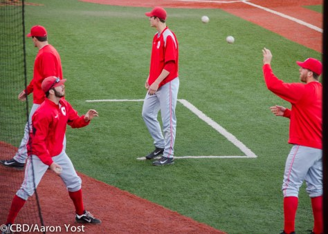 Ohio State juggling before game time
