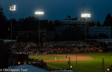 Goss Stadium twilight