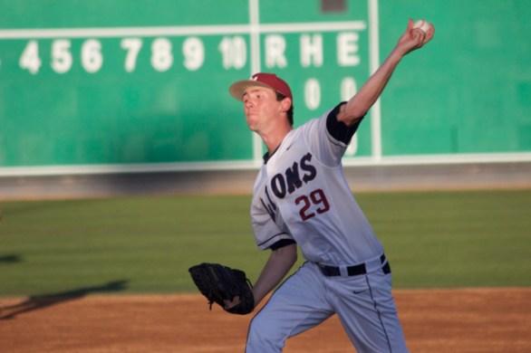 Brenton Arriaga pitched 6.1 scoreless innings. (Photo: Shotgun Spratling)