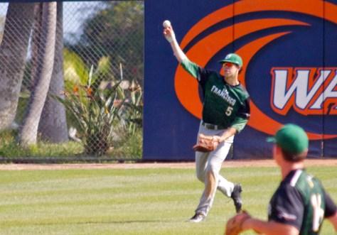 Bradley Zimmer fires the ball in. (Photo: Shotgun Spratling)