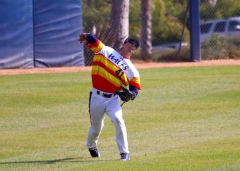 Brandon Caruso fires home. (Photo: Shotgun Spratling)