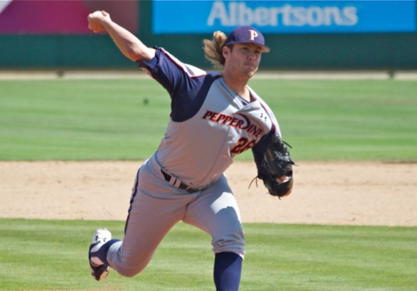 Eric Karch closed it out for his 14th save. (Photo: Shotgun Spratling)