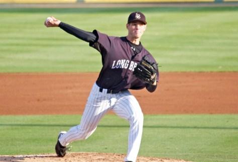 Andrew Rohrbach allowed 2 ER in 7.1 IP. (Photo: Shotgun Spratling)