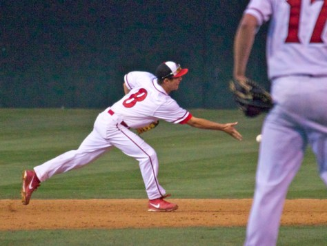 Danny Sheehan starts the double play. (Photo: Shotgun Spratling)