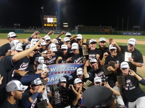 Pepperdine wins the WCC Tournament in Stockton, Calif. (Photo: Shotgun Spratling)