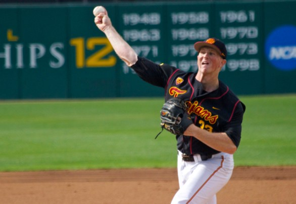 Wyatt Strahan pitched out of jams repeatedly.