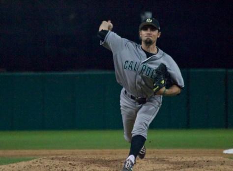 Danny Zandona pitched two innings.