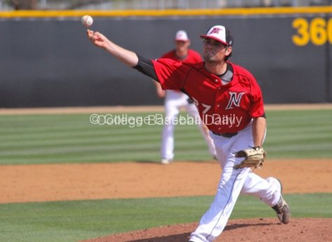 Brycen Rutherford allowed two runs in five inninings.