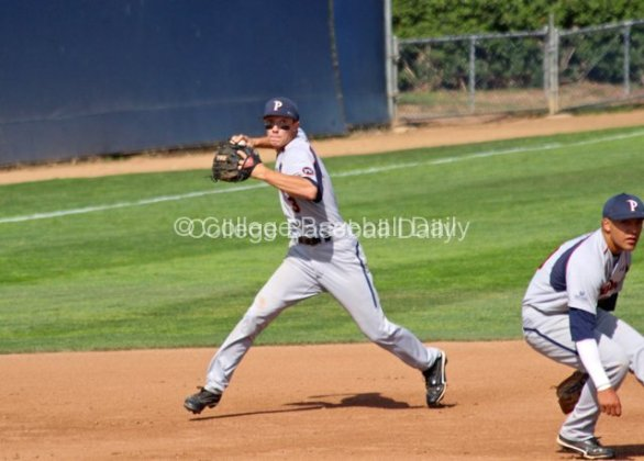 Zach Vincej ranges into the hole at SS.