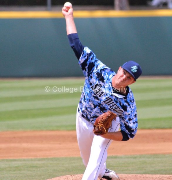Dylan Covey had his longest outing this season.