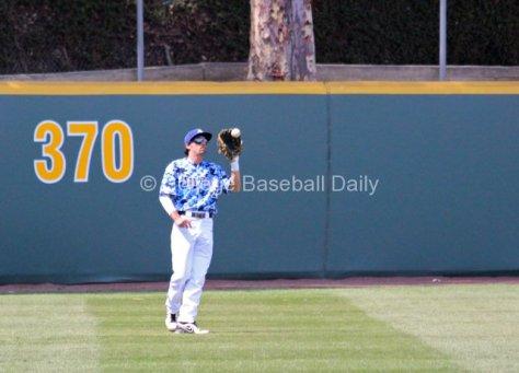 Dillon Checkal makes a catch.