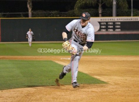 Danny Hayes gets prepared to lunge for a tag.
