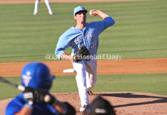 Max Homick allowed one run in three innings.