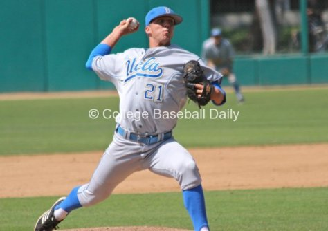 Nick Vander Tuig pitched six innings.