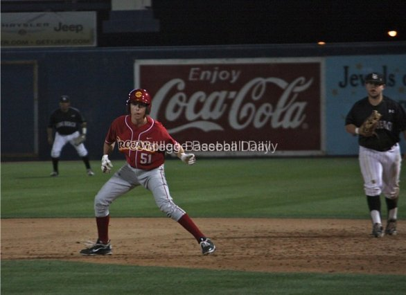 Garrett Stubbs had another two hits for USC