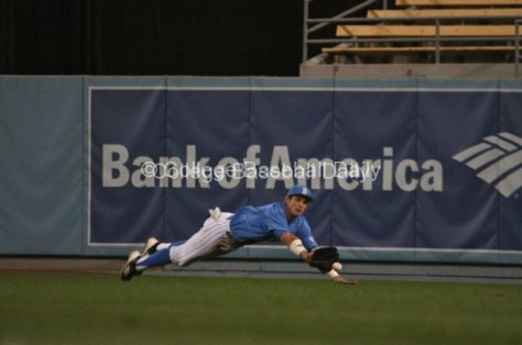 Beau Amaral can't make a diving catch.