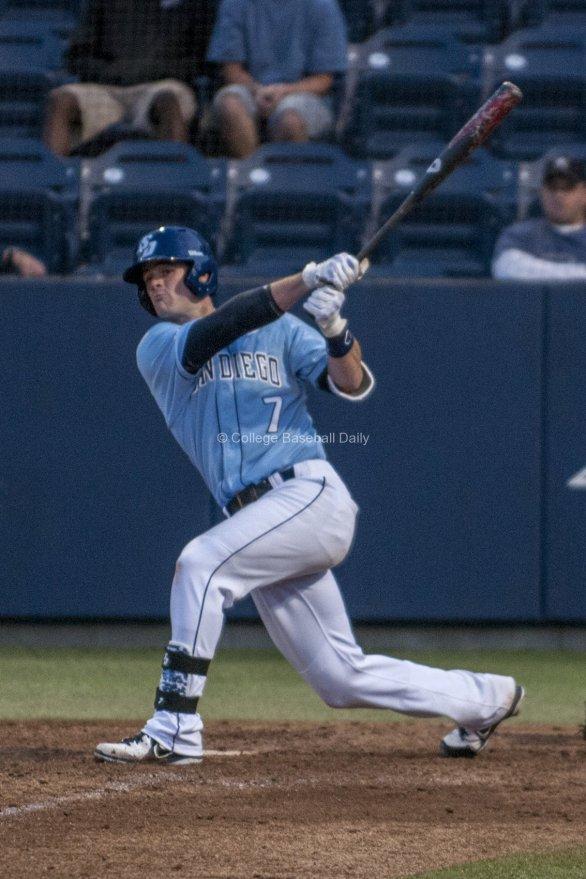 Josh Goosen-Brown takes a swing