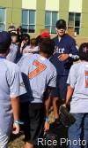 Rice Baseball Volunteer Saturday At Boys & Girls Club Clinic