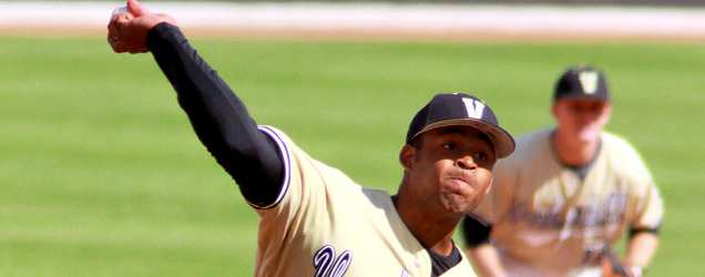 Vanderbilt's Moore Takes Pride In Pitching