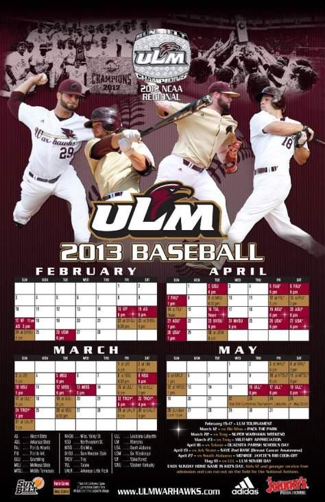 ULM Baseball Poster_final