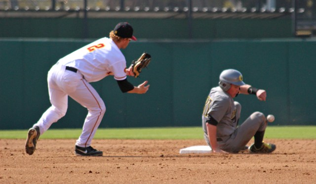 CBD Photo Gallery: #16 Oregon Beats USC with 7 Unearned Runs