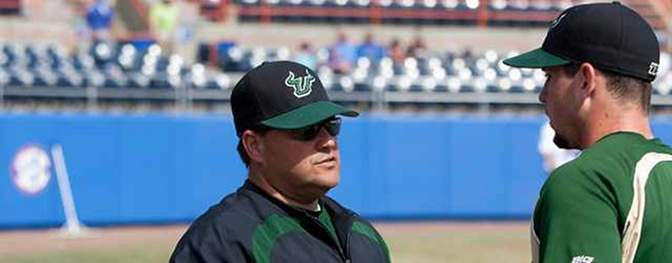 Lelo Prado talks 2014 South Florida Baseball