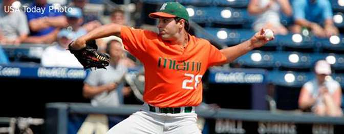 Jim Morris talks 2014 Hurricanes Baseball