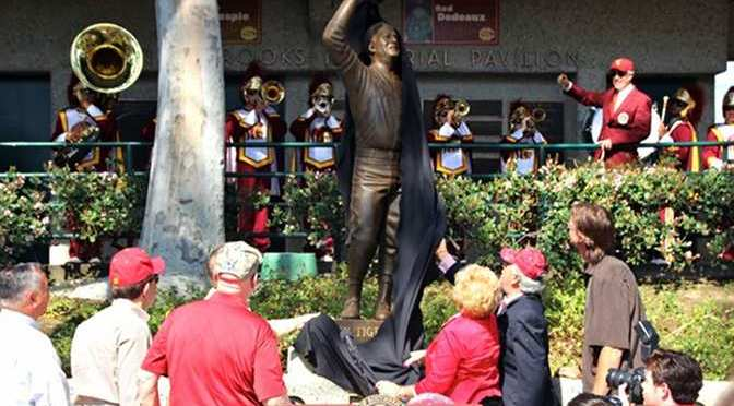 Gallery: Famed Coach Rod Dedeaux Gets a Statue at USC