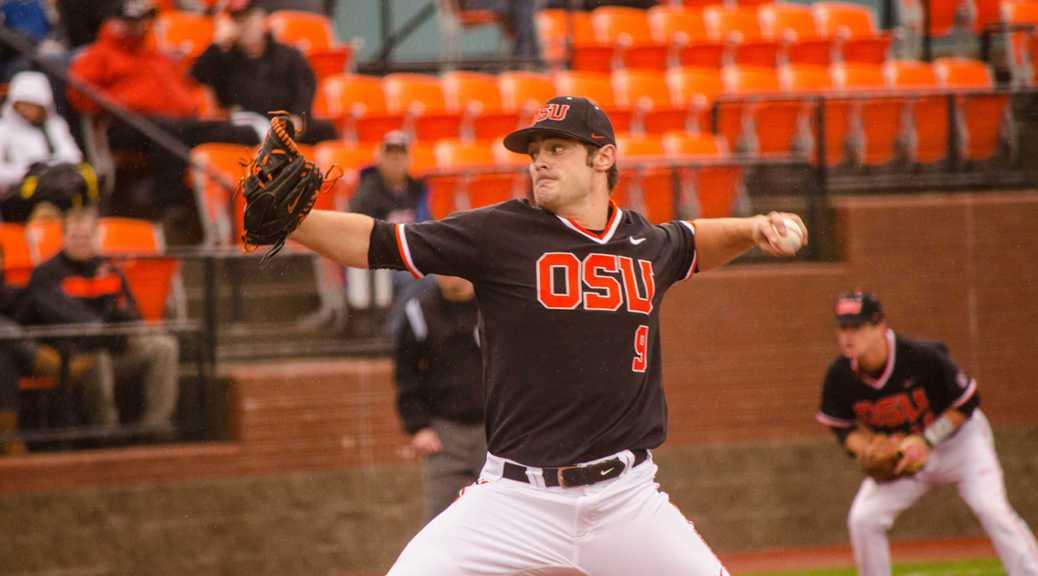Oregon State's Ben Wetzler