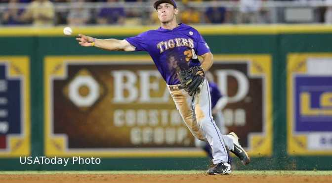 LSU's Bregman Finds Inspiration