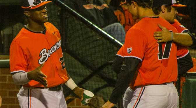 Oregon State's Hunter Jarmon leaves Baseball Program
