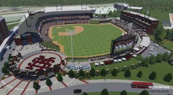 Mississippi State announces Dudy Noble Field Master Plan