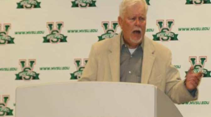 Mississippi Valley State's Doug Shanks Retires
