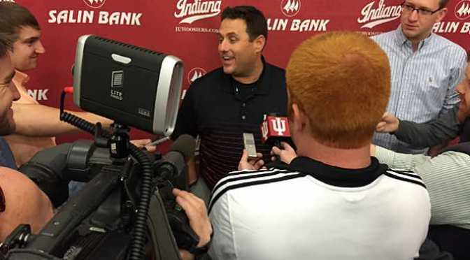 Indiana Baseball holds Media Day