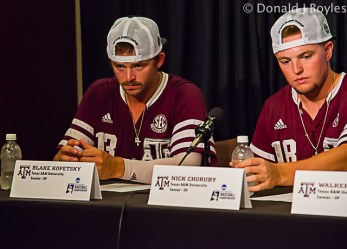 Texas A&M press conference