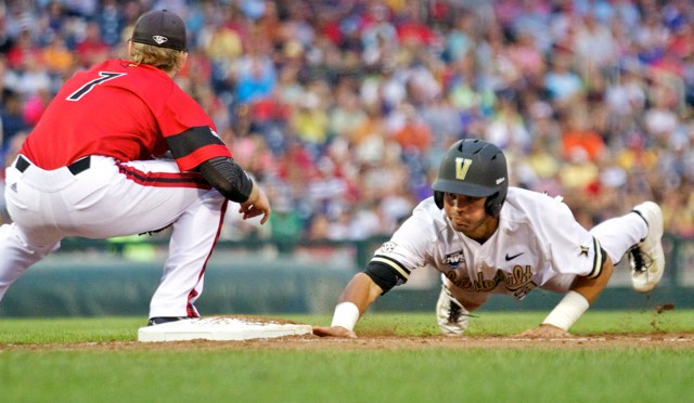 CBD Photo Gallery: Two-Out Hits Propel Commodores