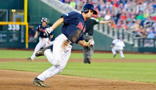 2014 CWS Game 10: Ole Miss 6 TCU 4