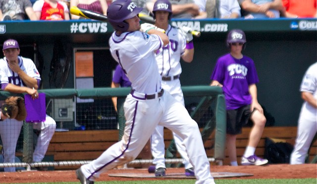 College World Series One-On-One: TCU OF Cody Jones