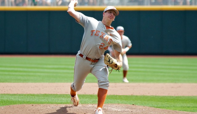 College World Series One-On-One: Texas RHP Parker French