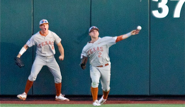 College World Series One-On-One: Texas CF Mark Payton