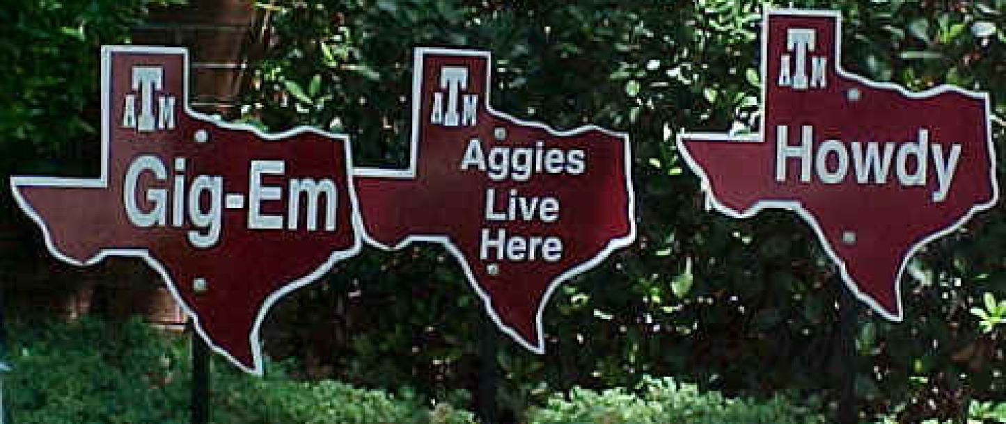 Aggie Signs