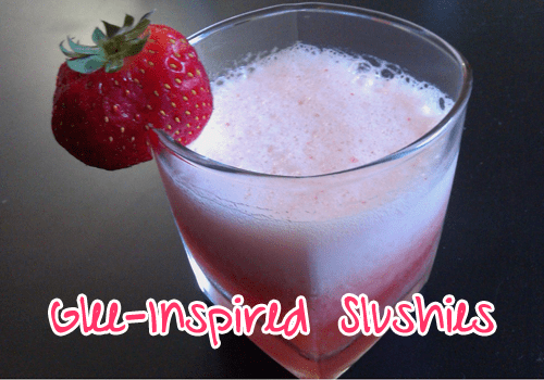 glee strawberry slushy recipe from Collegiate Cook