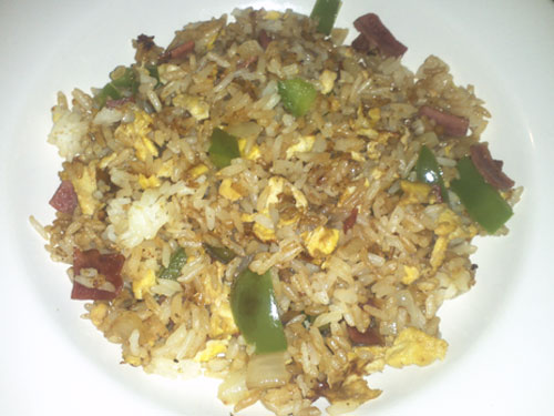 Easy Fried Rice Recipe by Collegiatecook.com