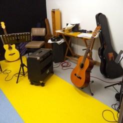 Escuela de música con pavimentos vinílicos (PVC)